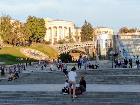 Киев. Крещатик. Майдан Независимости