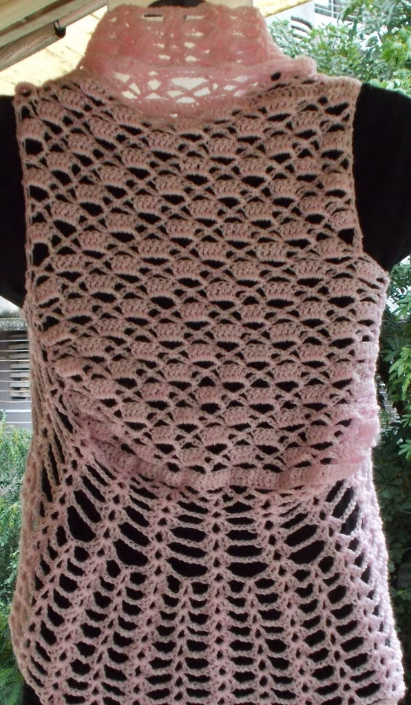 free crochet ladies bolero pattern