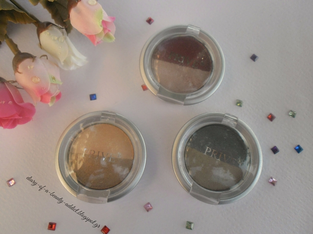 PRIVE Metallic Wet & Dry Eye-Shadow Duo