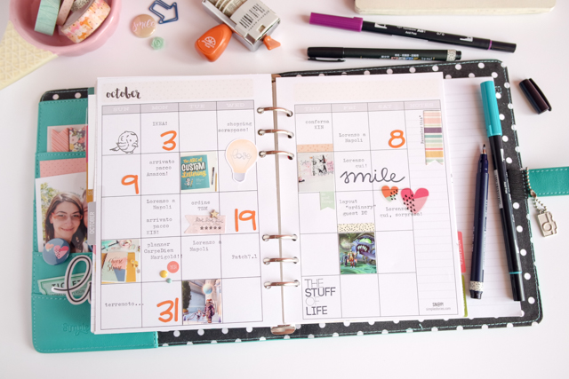 scrappin'planner by kushi settembre ottobre 2016 10| www.kkushi.com
