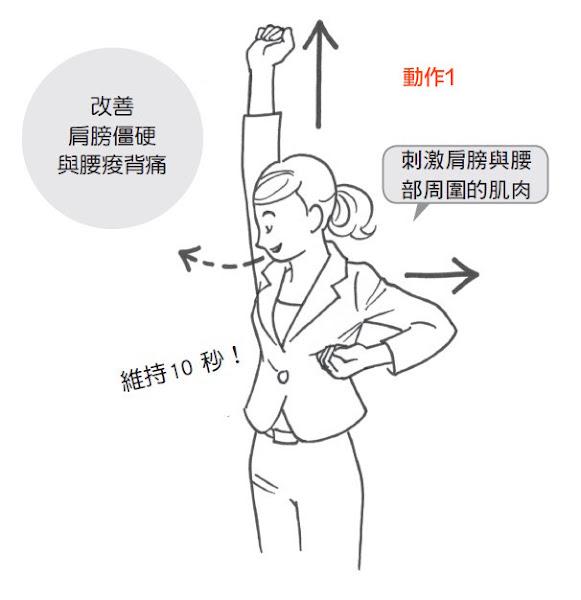 腰背減壓操1