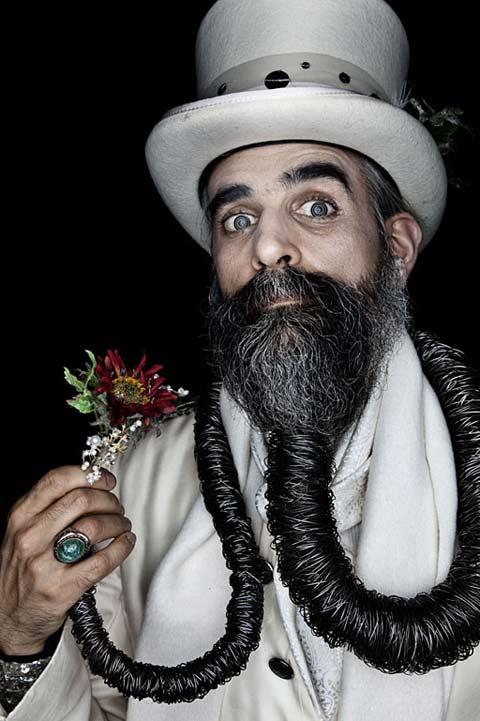 Pleasing Portraits From World Beard Championships 5 Short Hairstyles Gunalazisus