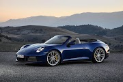 New 911 Cabriolet ready to leave