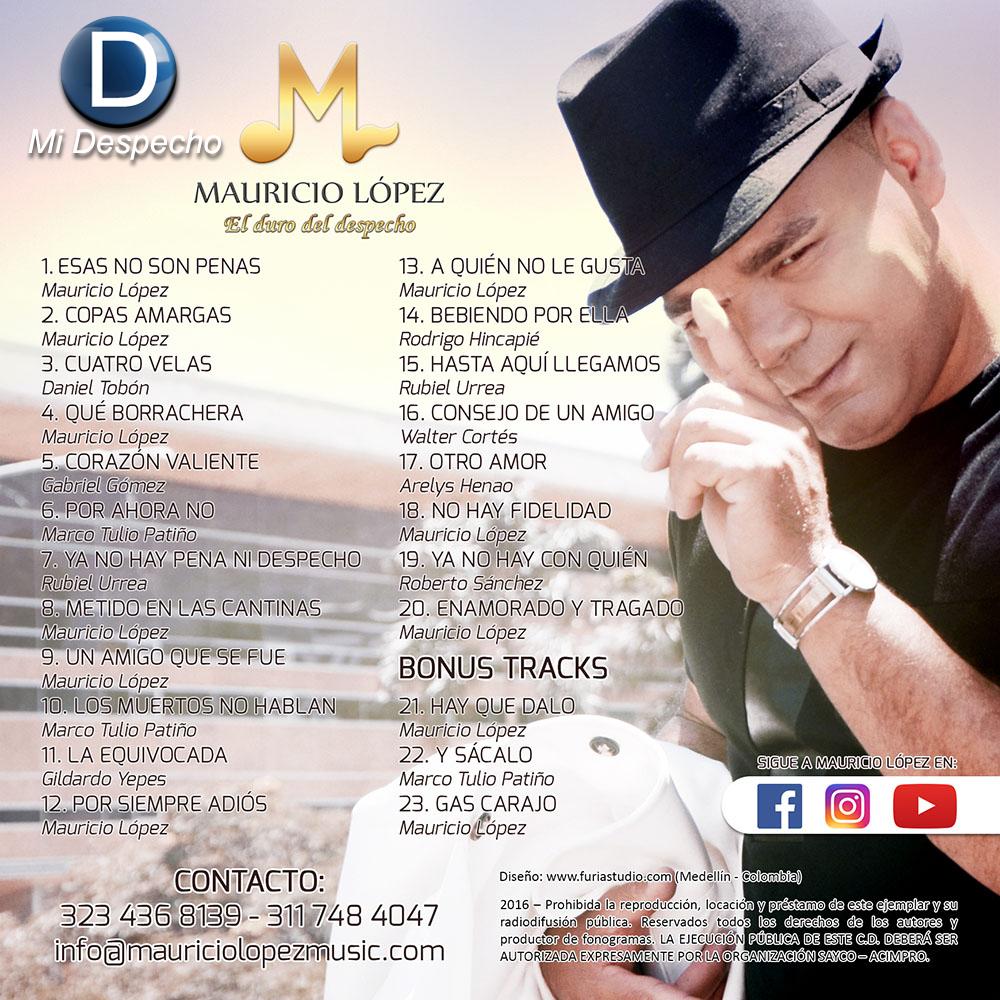 Mauricio Lopez Esas No Son Penas