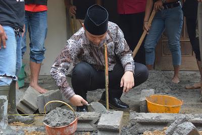 Sinergi Dengan Baznas, Pemkab Trenggalek Bangunkan Rumah Layak Huni Warga Suruh