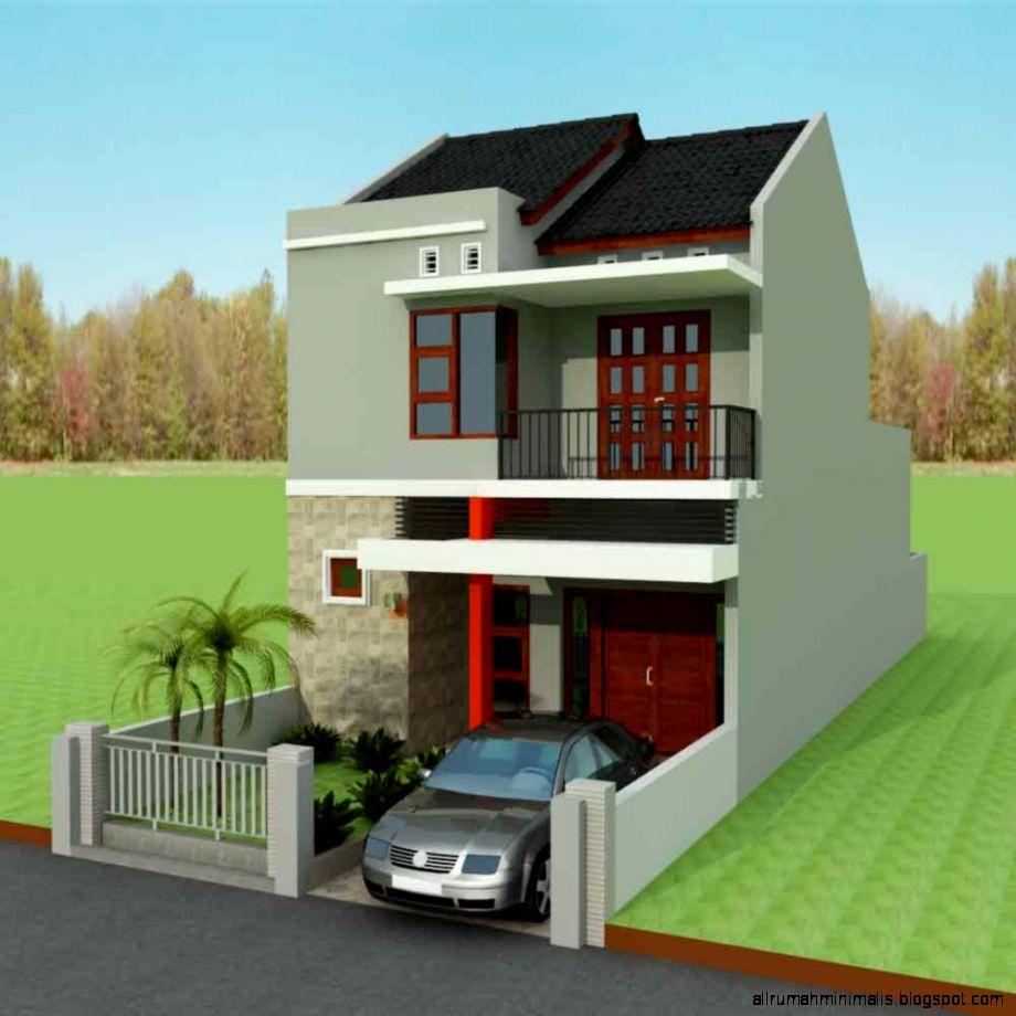 Desain Rumah Sederhana 2 Lantai  Design Rumah Minimalis