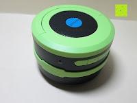 klein: OUTAD 2-in-1 Outdoor Wireless Bluetooth Lautsprecher & LED Lampe mit eingebautem Mikrofon, einstellbarem Licht und Broadcom 3.0