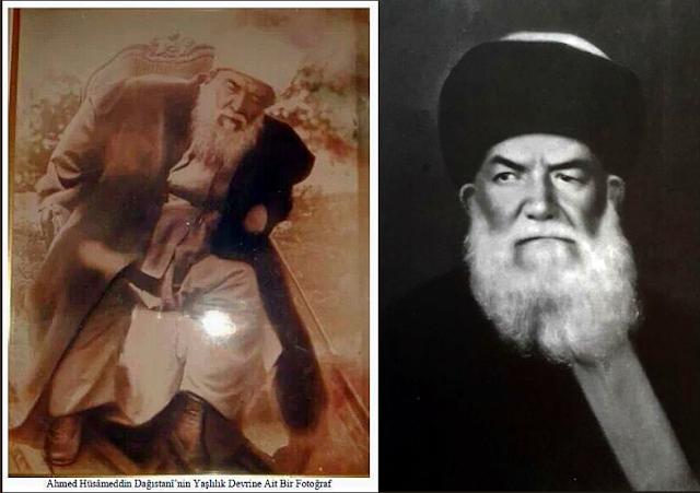 Ahmed Hüsameddin Dağıstani - Ömer Fevzi Mardin