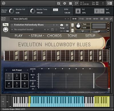 Orange Tree Samples - Evolution Hollowbody Blues Screenshot 2