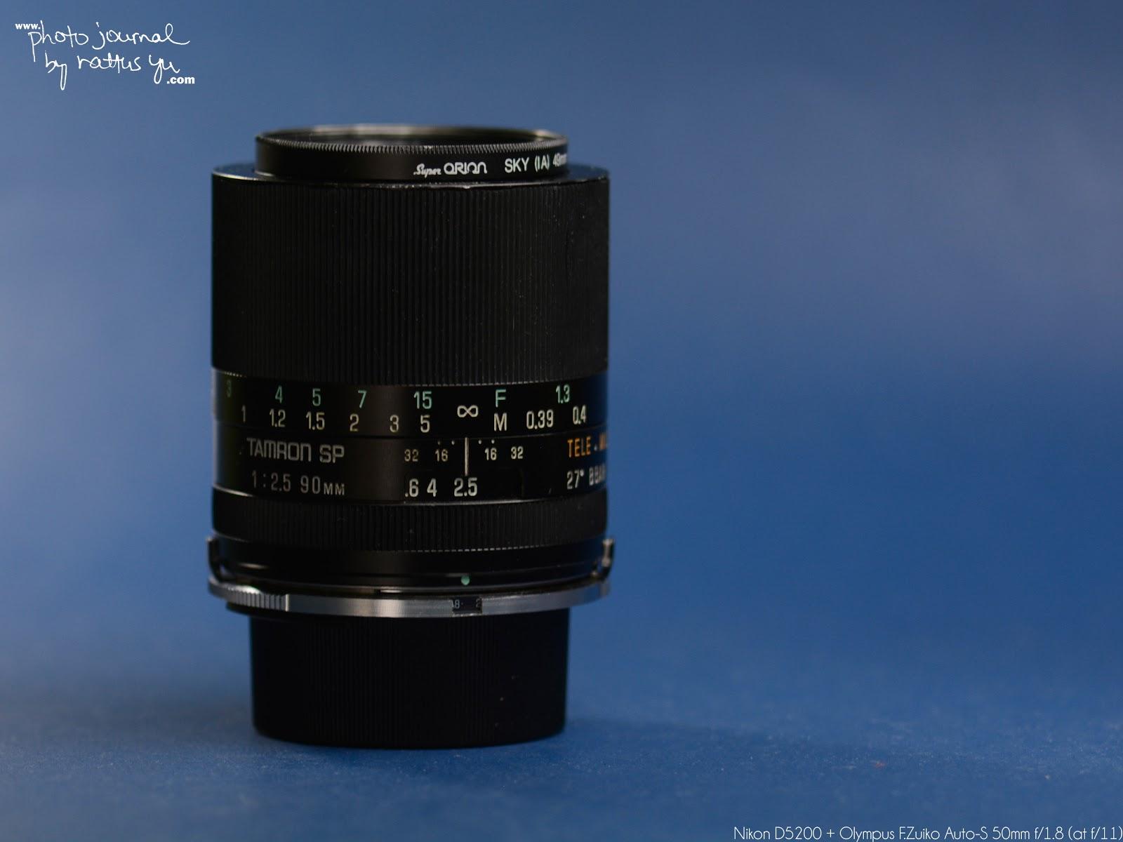 Olympus F.Zuiko Auto-S 50mm f/1.8... Converting OM To Nikon Mount