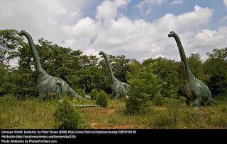 Liña do tempo: DinosauRus