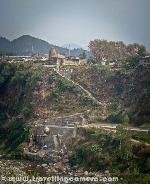 Few years back, I was visiting Palampur for a marriage and had enough time during the day time. So we went to a Hydro project which is located in a small village near Baijnath. Let's start this Photo Journey to Utrala Hydro project in Himachal Pradesh...Here is a photograph of famous Shiva Temple at Baijnath, Himachal Pradesh. We started our journey from Palampur, through Paprola and took a left without touching Baijnath. This cut is just at the boundary of Baijnath town. This Shiva temple is visible on top of hill of Baijnath and visible from surrounding areas. Temple is very well maintained with a committee which is formed to ensure that all necessary things keep happening in the campus without any disturbance or indiscipline. There is a beautiful garden in the back side of this Shiva Temple at Baijnath...Here is a zigzag road which leads to Baijnath. I had heard of lot of Hydro projects in Upper Shimla and Kinnaur regions, but had never though of Palampur region. In Himachal, projects upto 5MW can be setup by private companies and many companies from Himachal and South India are operating in Himachal. To know more, check out http://himurja.nic.in/smallhydro.htmlAfter taking left turn from Paprola, we started climbing up and road was in worst possible state. Very narrow road with no maintenance was taking us towards the place where water was reserved and lots was connected to lot of tunnels on higher hills. The planned town you see in above photograph is probably the colony of workers form this hydro project.We crossed through  various villages and farm-land on the way from Paprola to Utrala. Himachal Pradesh Government decided to explore hydel potential in small hydro sector through private sector participation during 1995-96. Since then allotment of project sites has been a continuous process. Till this year (2011), 450+ Small hydro Electric Projects (upto  5MW  capacity) with an aggregate capacity of 1150+ MW have been allotted to different companies. Out of these 45 projects with an aggregate capacity of 175+ MW have been commissioned. A goal of 500 MW through Small Hydel Projects by the end of 2014 has been fixed...It was a wonderful ride till the project location, if I forget about the part when car tyres were overlapping with road boundaries. It was scary to sit on side seat and look down from your car. At many places, I even suggested to park the car and walk up few kilometers to reach the location.Here is one of the news talking about top companies participating in power generation through hydro projects in Himachal Pradesh - Click.Here is first view we get of small water reservoir on top of the hill. This water comes through various tunnels in surrounding mountains and lifted up after generating some power out of it's heavy pressure on turbines installed down in the base of this huge hill. Puneet standing with information board of Utrala Hydro Project in Himachal Pradesh (In Palampur/Baijnath region.).Hope to visit Kinnaur in 2012 to visit more such projects along with wonderful places around these.