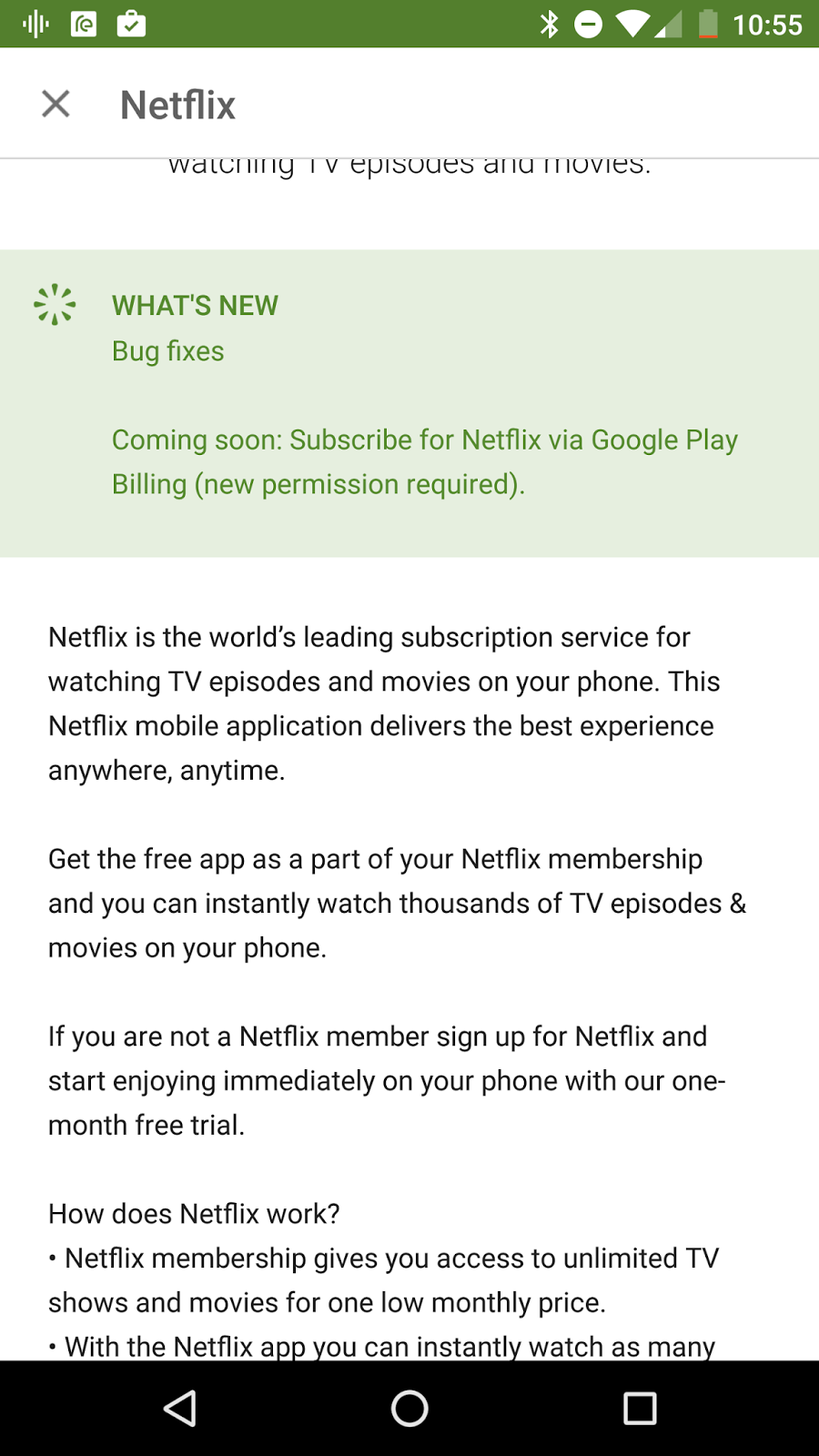 So Does That Mean You Can Use Your Google Play Rewards Money To Get Netflix For Free Let S Hope