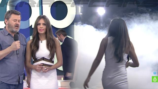 Cristina Pedroche transparentando tanga