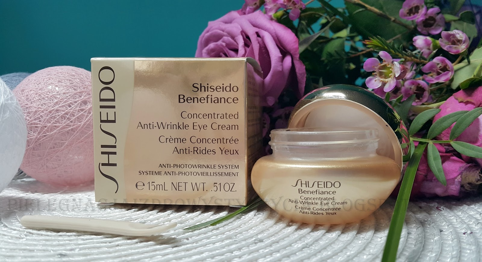Krem pod oczy Shiseido Benefiance Concentrated Anti-Wrinkle Eye Cream