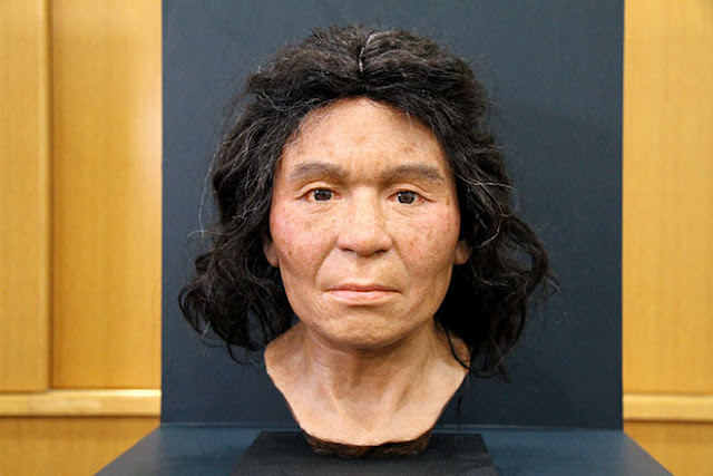 DNA-based study reconstructs face of Japanese woman from 3,800 years ago