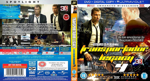 The Transporter Refueled 2015 DVD COVER