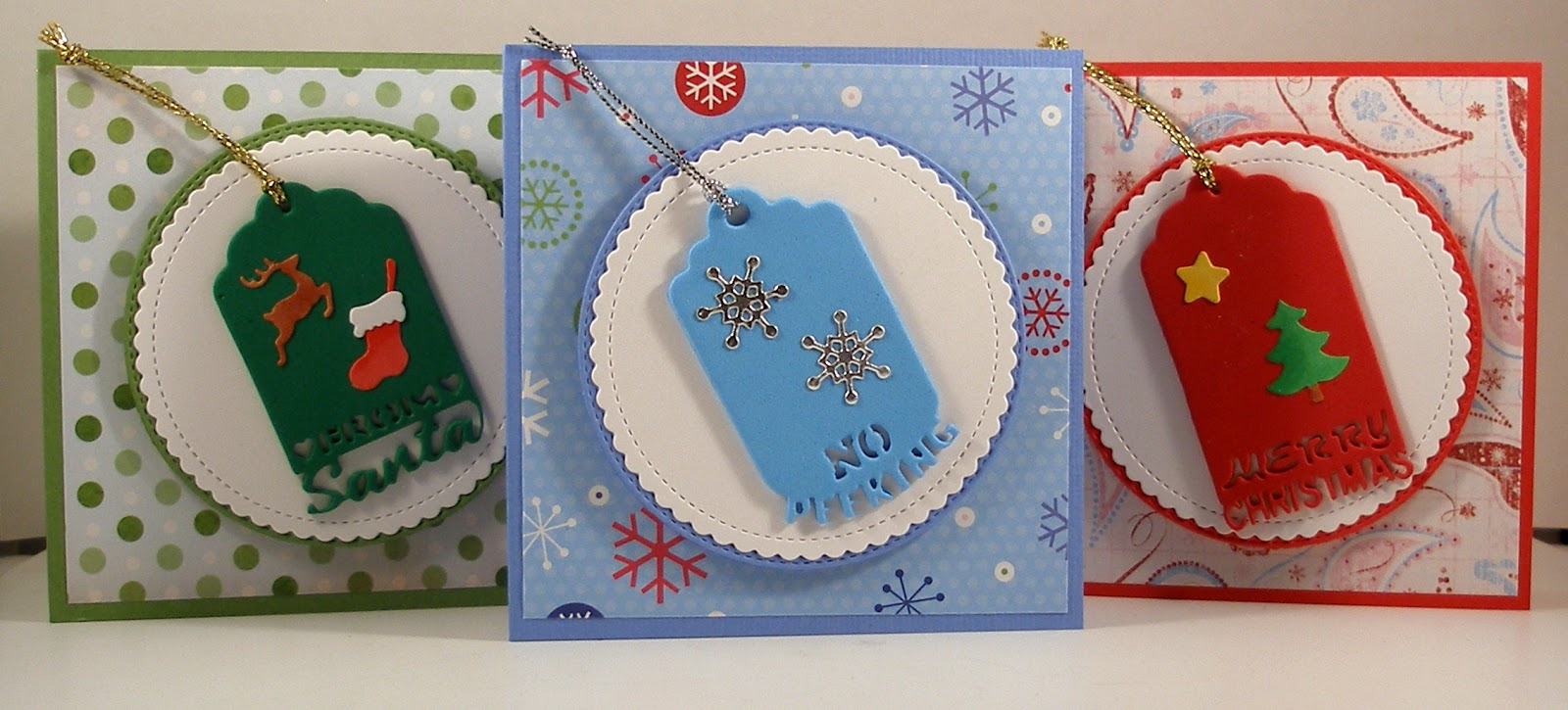CottageBLOG: Christmas Tag Cards