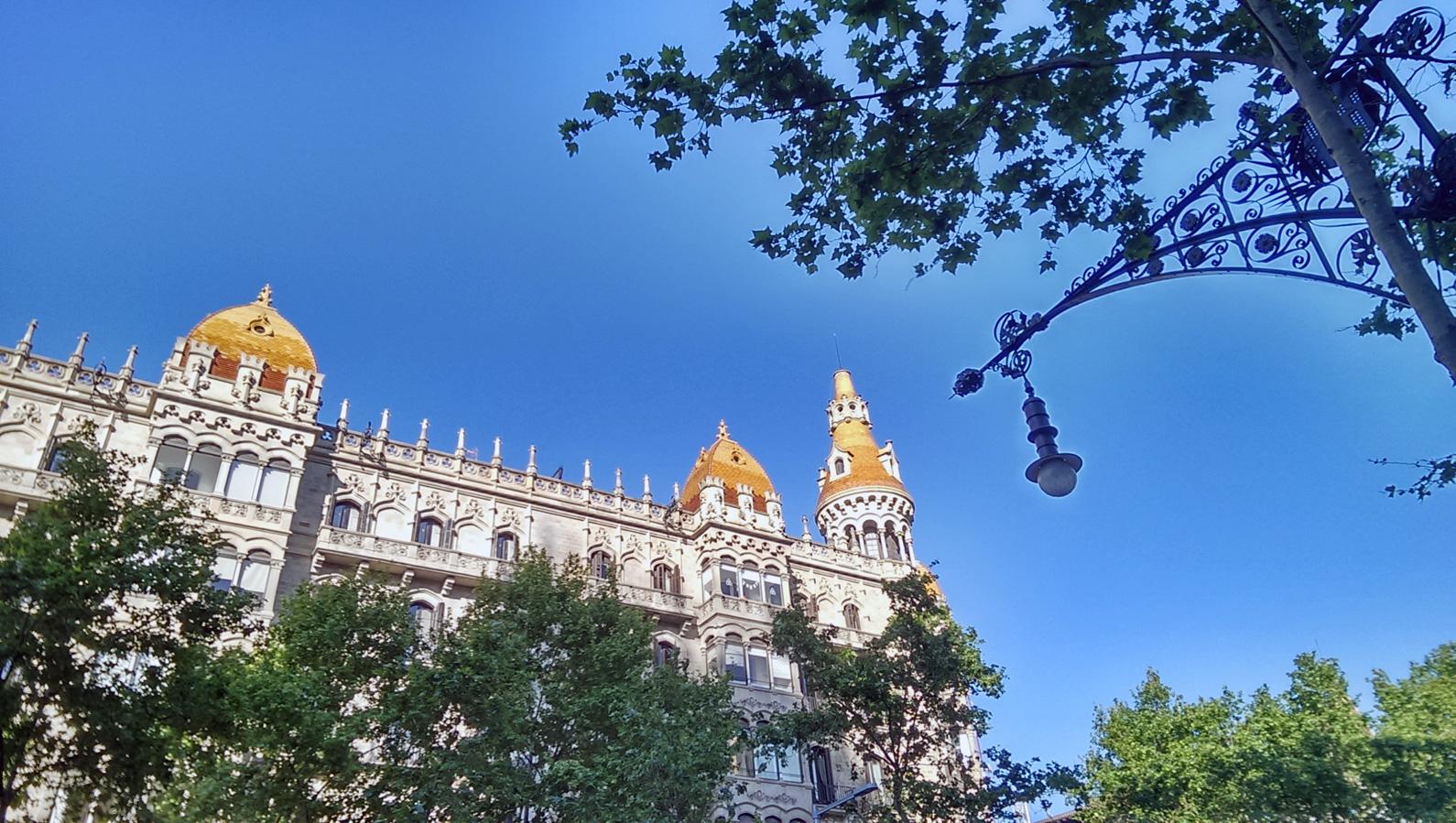 Paseo de Gracia, Barcelona, 2 de mayo de 2016