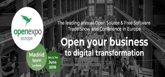 OpenExpo Europe 2018 Abre tu Negocio a la Transformación Digital