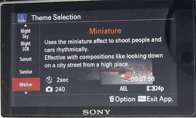 Theme Miniature Pada Pembuatan Video Timelapse Menggunakan Sony A6000