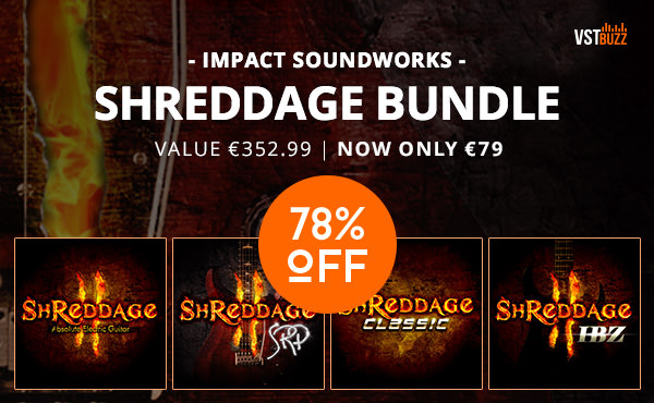 "SAMPLE SOUND REVIEW: 78% off ""Shreddage Bundle"" by Impact"