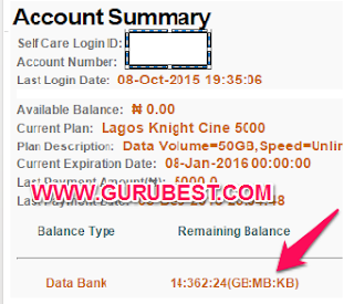 How To Check Your Spectranet Data Balance