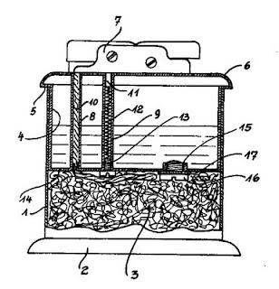 Table lighters collectors' guide: ELDRO TANK [Drollinger