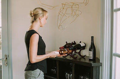 Wooden Wine Rack By Bella Vino #drinkbellavino