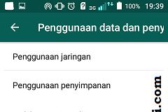 Mencegah folder whatsapp memenuhi memori handphone