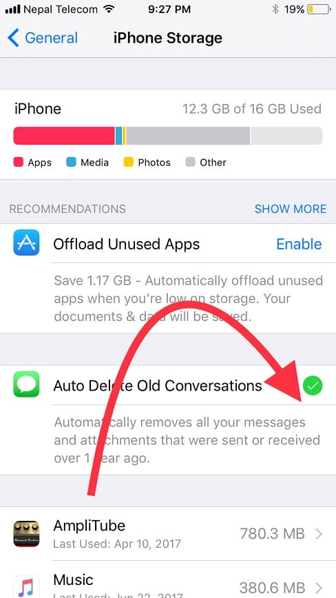 how to permanently delete imessages