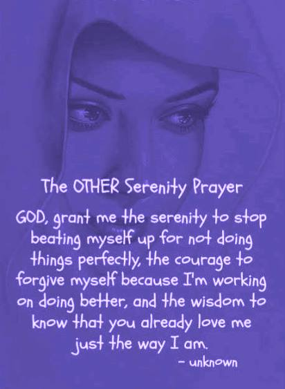 The Other Serenity Prayer - perfect for Midlife women