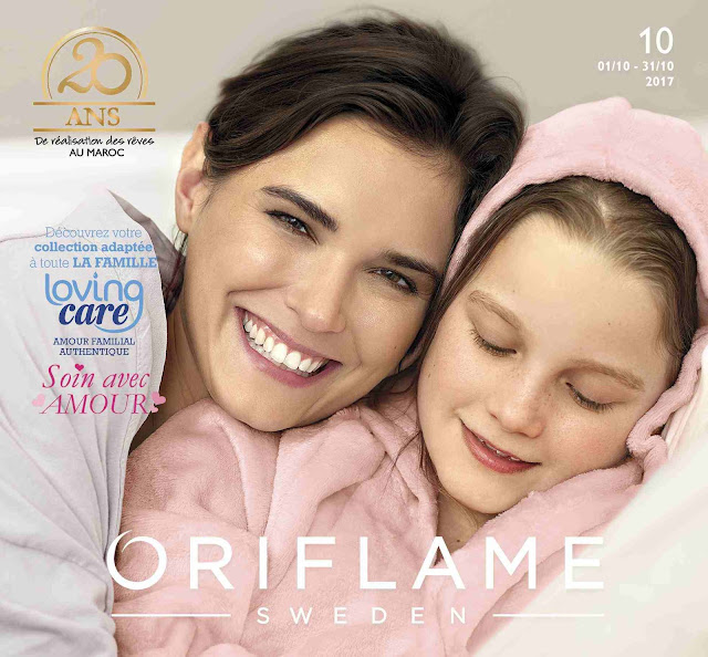 catalogue oriflame maroc octobre 2017