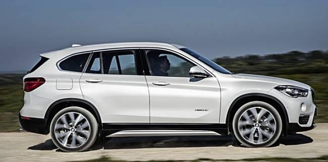 2017 BMW X1 SUV Fuel Economy