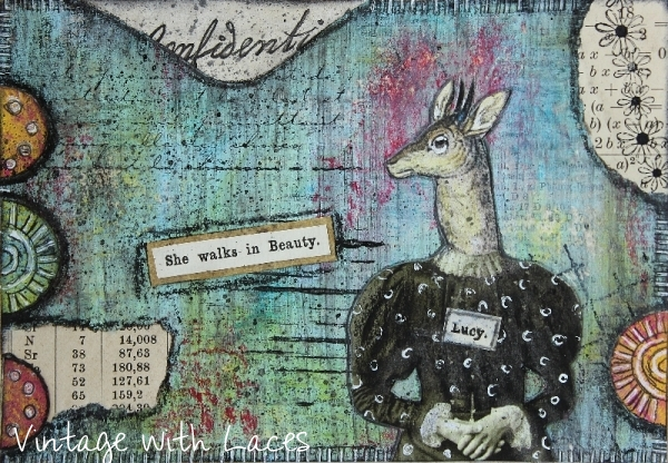 ICAD Mixed Media Collage