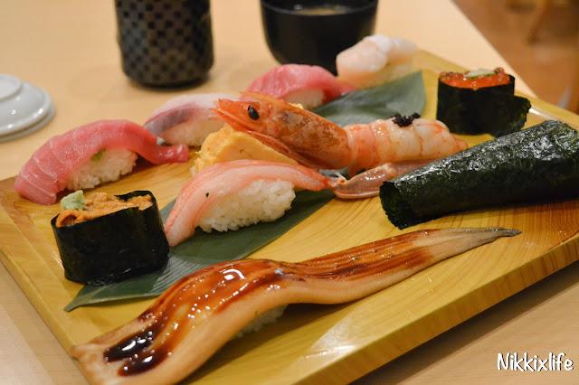 【日本。東京】平價抵食超人氣梅丘寿司の美登利 12