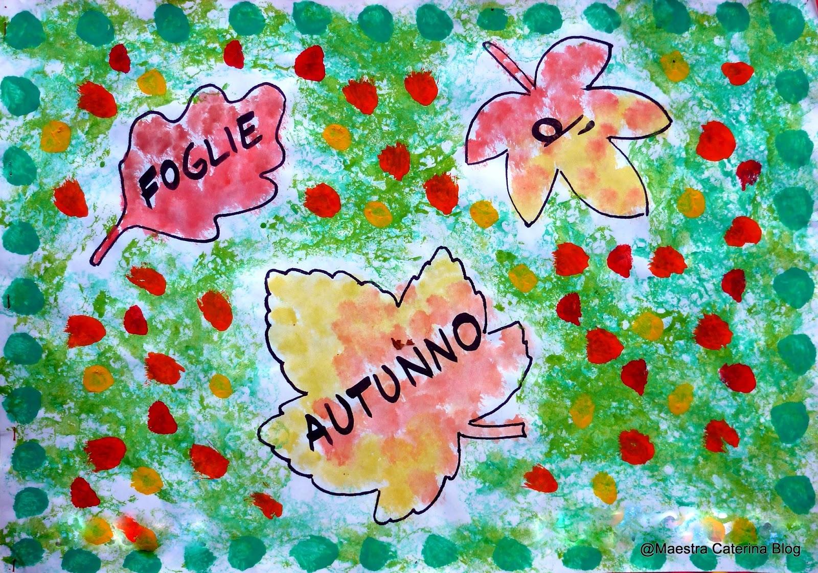 Maestra caterina autunno attivit con lo gnomo spazzafoglie - Scuola per piastrellisti ...