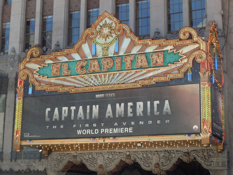 Captain America World Premiere El Capitan