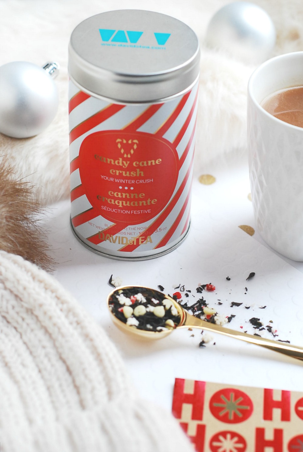 David's Tea Christmas 2016 collection gold perfect spoon