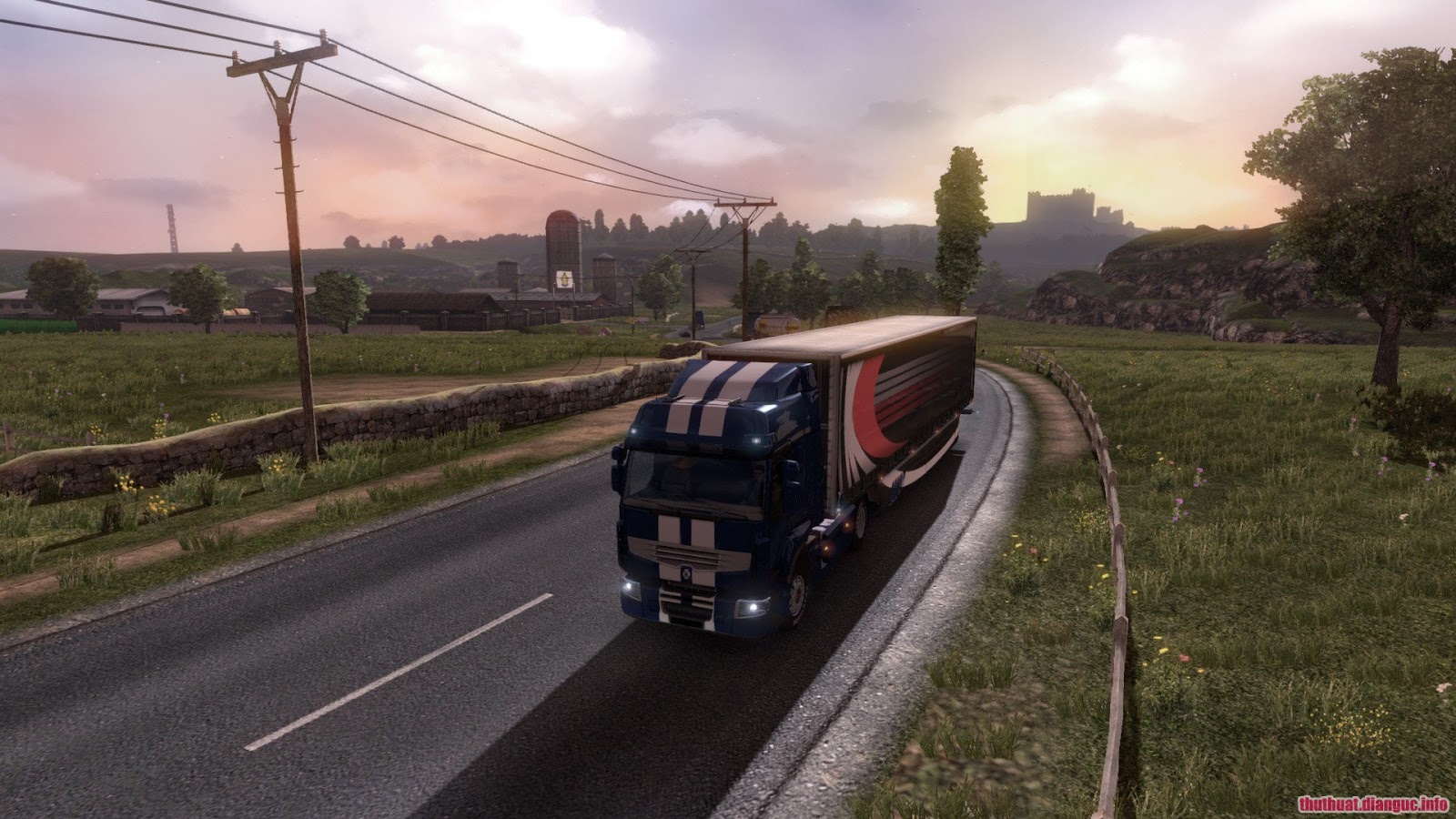 Download game Euro Truck Simulator 2 v1.20.1s Full crack
