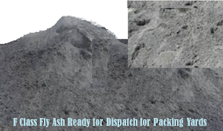 Fly Ash F Class as per ASTM C 618, for Sale, India, Ready stocks, FOR, FOB