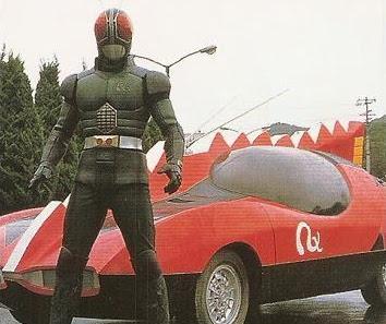 Kamen Rider Pertama Yang Punya Mobil