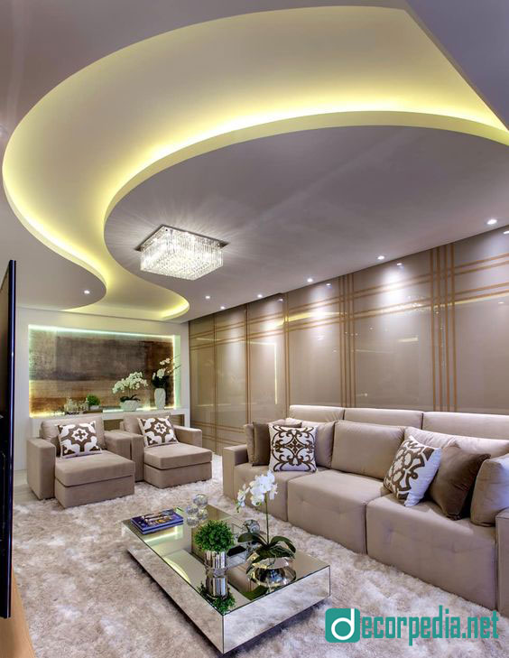 Latest false ceiling design ideas for modern room 2019