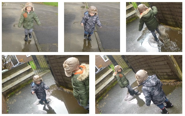 Yorkshire Blog, Mummy Blogging, Parent Blog, puddles, jumping, wet, rain, weather, play, Outdoor Play, #CountryKids,
