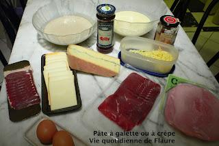 Vie quotidienne de FLaure:Pâte à galette ou à crêpe