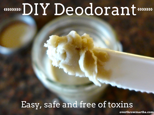 15 ways to use coconut oil in your home: DIY Deodorant