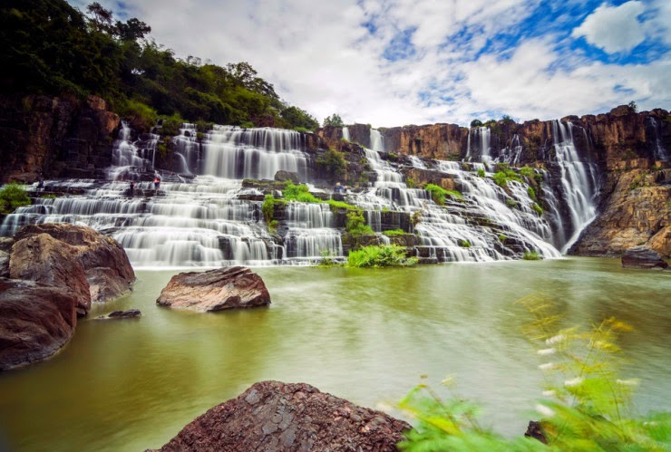 Pongour – a Stunning Terraced Waterfall in Vietnam