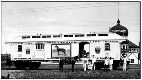Dan Patch traveled in style in a custom railroad car