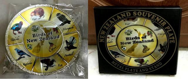 New Zealand Birds Metal Plaque