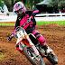 Maiara Basso larga na frente no Brasileiro de Motocross